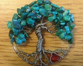 Turquoise Tree for Jim's girlfriend