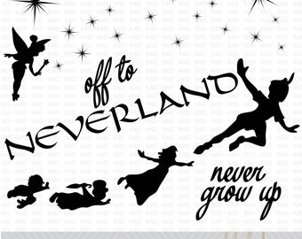 Neverland SVG files/Clip Art files