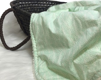 Mint Baby Bedding -Mint - Baby Bedding- Fern