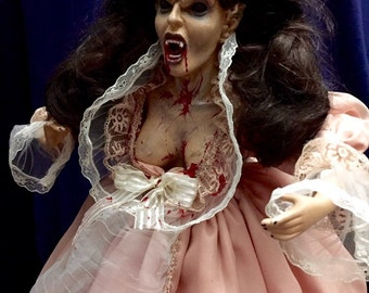 Annabelle LaLaurie Original Undead Vampire Socialite Of The South Serial Killer Horror Doll Bioahazard Lady