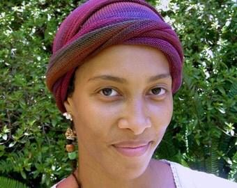 Rustic Earths Cover All Head wrap Turban Wraps Cotton Chemo Hair Scarf Chemo Headwear Chemo Hat