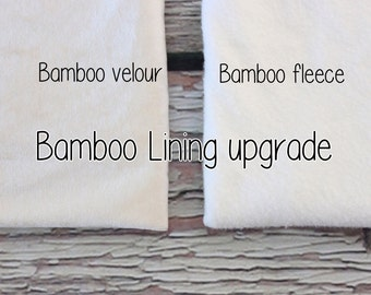 Organic Bamboo Lining, GOTS certified, upgrade for baby/toddler slipper boots - for ewe boots