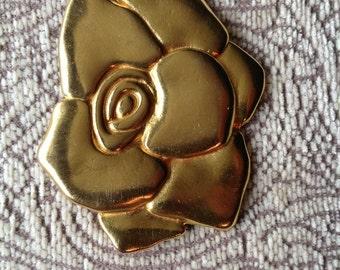 Modern Vintage Statement Flower Pin