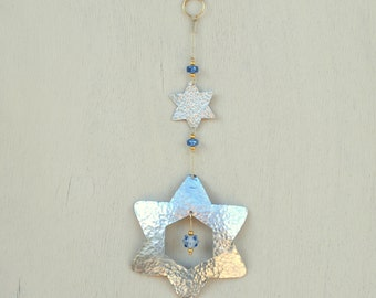 Jewish Decor Star of David Gift - Jewish Star Magen David - Jewish Art Hanging Decor - Judaica decor