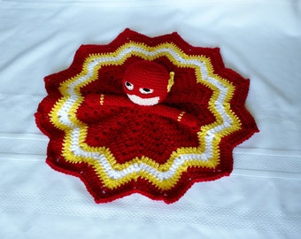 Flash Inspired Lovey/Security Blanket
