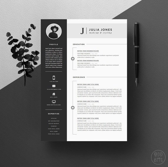 Resume Template Cv Template Cover Letter For By