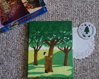 The Magician's Nephew Inspired Painting // Narnia // The Chronicles of Narnia