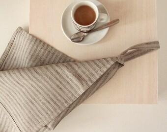 Modern linen dish towel - pure natural linen tea towel - kitchen towel  - Scandinavian design by Linenspace    0038