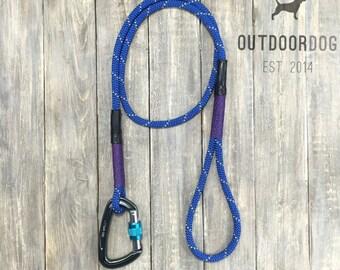 4ft-Royal Blue climbing rope dog leash