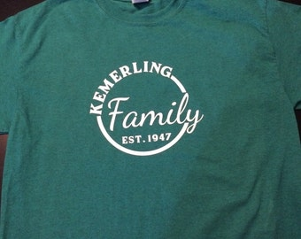 Family Reunion Shirt