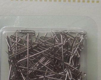 T PINS CRAFTING Sewing 100 count nickel plated  1A2C E