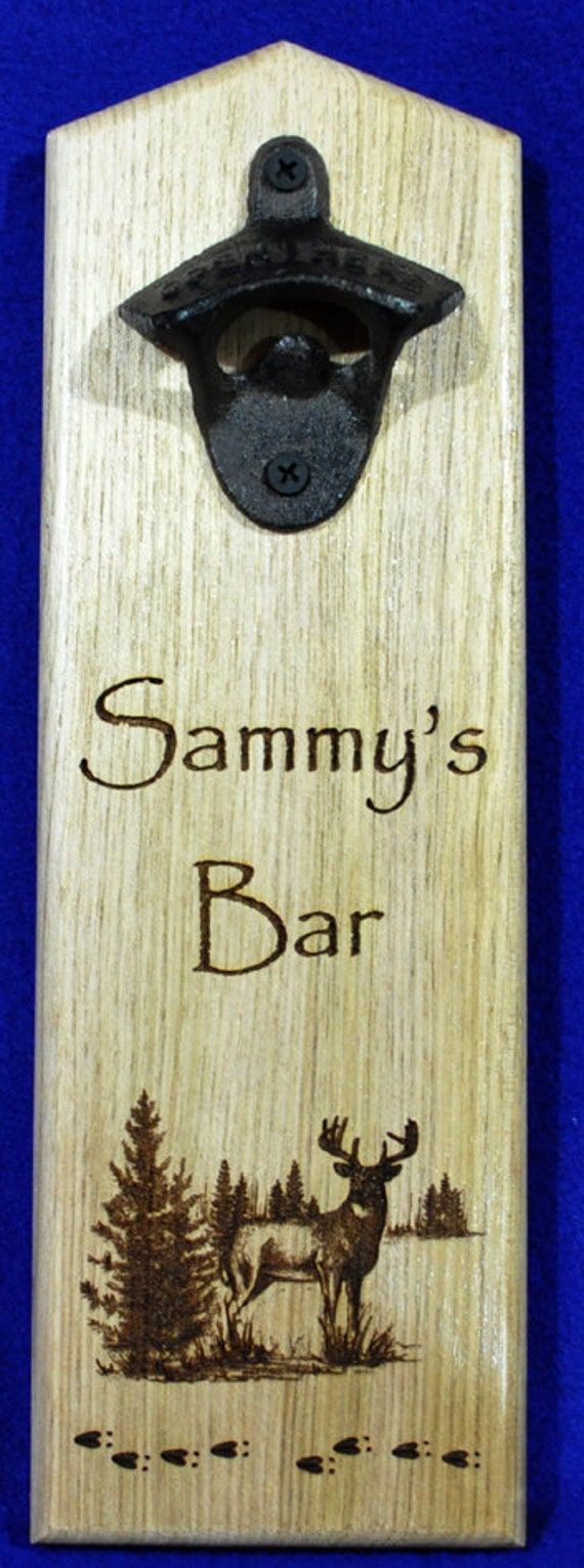 Man Cave Gifts Reviews : Gift for husband man cave engraved bottle opener