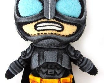 CHIBI Armored Batman plush from Batman vs Superman (NEW HANDMADE)