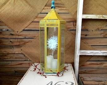 Charming Large Vintage Lantern