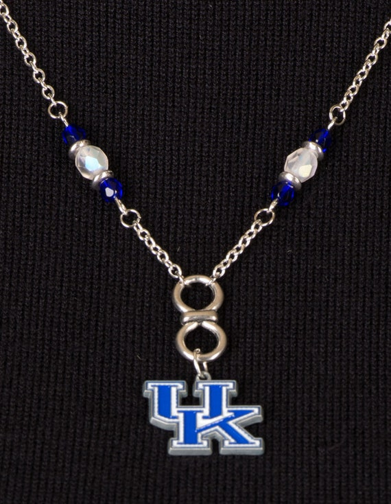 of kentucky necklace go big blue by