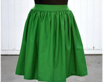 Pan Green Lilo Robin Hood Kermit Link Ariel Pascal Fauna Fiona Drucella Cotton Character Bounding Skirt in Regular and Plus sizes 2-32+