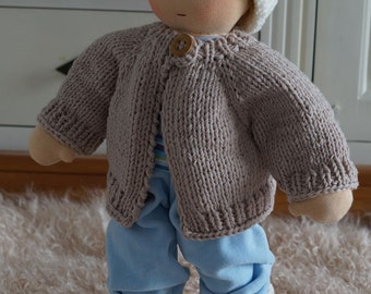 Paul, 42 cm doll Waldorf way