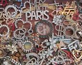 "Ultimate Vintage Destash Rhinestone ""Hodge Podge"" Bits and Pieces"