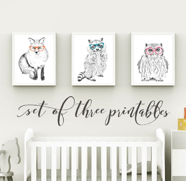 Woodland Themed Nursery: Woodland Themed Nursery Woodland Creatures By
