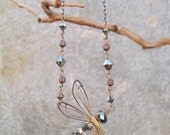 Dragonfly Hand-Wired Necklace (large)
