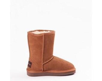 Children sheepskin boots