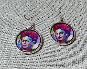 Frida Kahlo Inspired Earrings