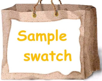 sample swatch