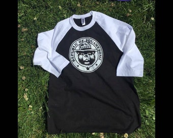 Republic of Squawesome Baseball Tee