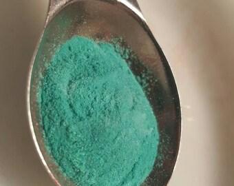 Aquamarine acrylic powder