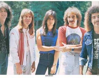 Journey Steve Perry  Rare Vintage Poster