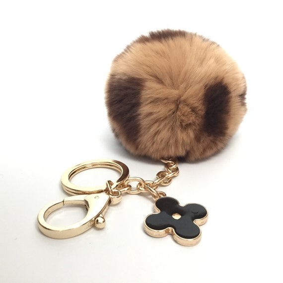 new pom perfect beige brown pattern rex rabbit fur by yogastudio55. Black Bedroom Furniture Sets. Home Design Ideas