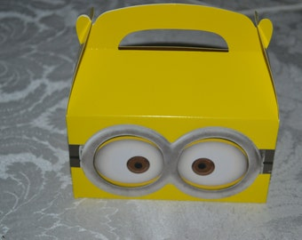 12 Minions Inspired Party Favor Boxes/Minions/Minions Favor Boxes/Favor Boxes/Minions Street Treat Boxes/Minions