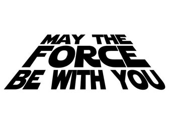 Star wars wall decal etsy