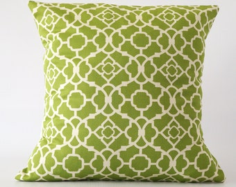Green 20x20 pillow, green pillow, green decorative pillow, throw pillows, cushion, decorative pillows