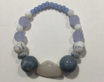 Shades of Lavender Bracelet