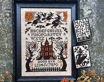 Witching Hour Cross Stitch Chart by Prairie Schooler