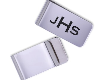 Personalized Money Clip/Laser Marked/gift for him/anniversary gift/groomsman gift