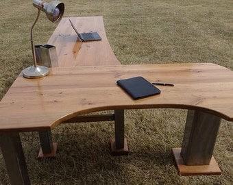 Custom L-Desk