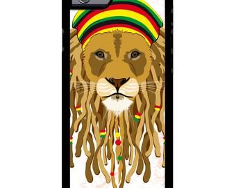 PRINTJETZ © Premium iPhone 6 / 6s Case with Cool Rasta Lion