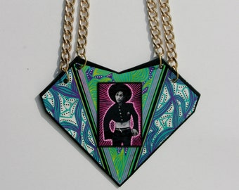 Prince double chain necklace
