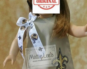 """18"""" Doll Dress with Ribbon"""