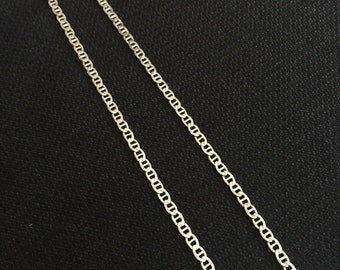 """Sale! Sterling Link 18"""" Chain 925"""