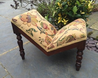 George IV Period Mahogany Gout Footstool