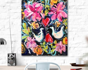 Abstract print, Abstract Art, Mexican dress, tapestry, colorful