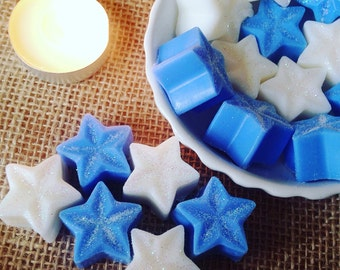 6 Galaxy Of Stars Scented Soy Wax Melts