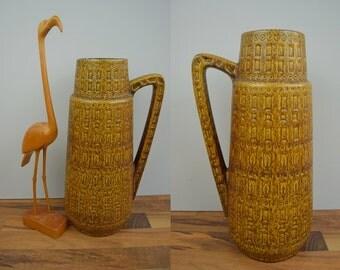 Vintage floor vase / Scheurich / Inka / 416 45 | West Germany | WGP | 60s
