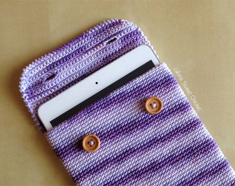 Case for ipad mini, made in crochet.