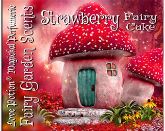 Fairy Cake: Strawberry - Sweet & Youthful Layerable Perfume - Love Potion Magickal Perfumerie