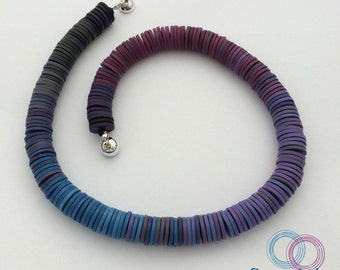 Necklace Purple Hues