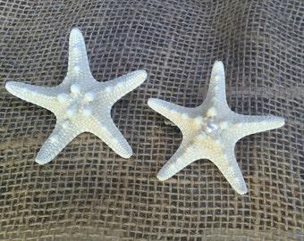 Starfish Barrette, Starfish Hair Accessories, Starfish Hair Clip, Mermaid Hair Clip, Beach Hair Accessories